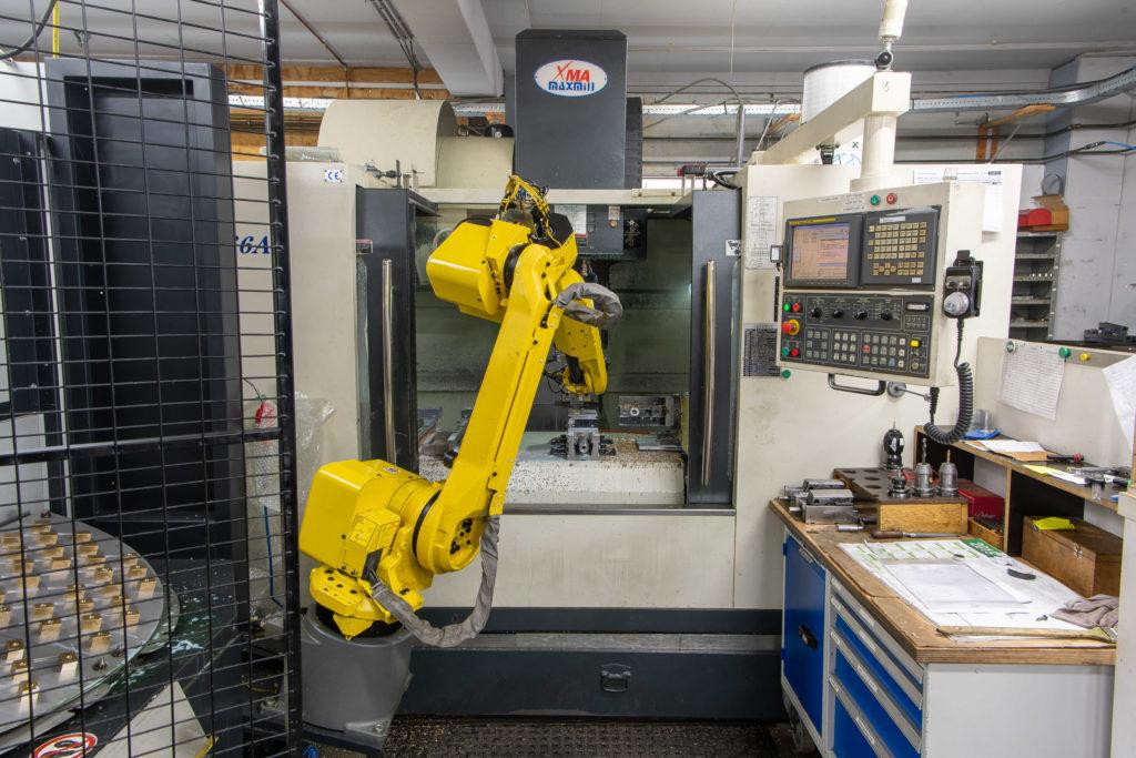 Maxmill met halter robot